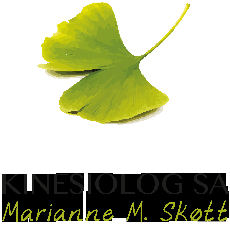 Kinesiolog SA, Marianne M. Skøtt Mobile Logo