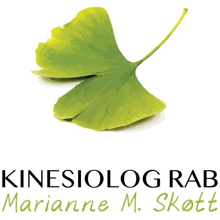 Kinesiolog RAB, Marianne M. Skøtt Logo